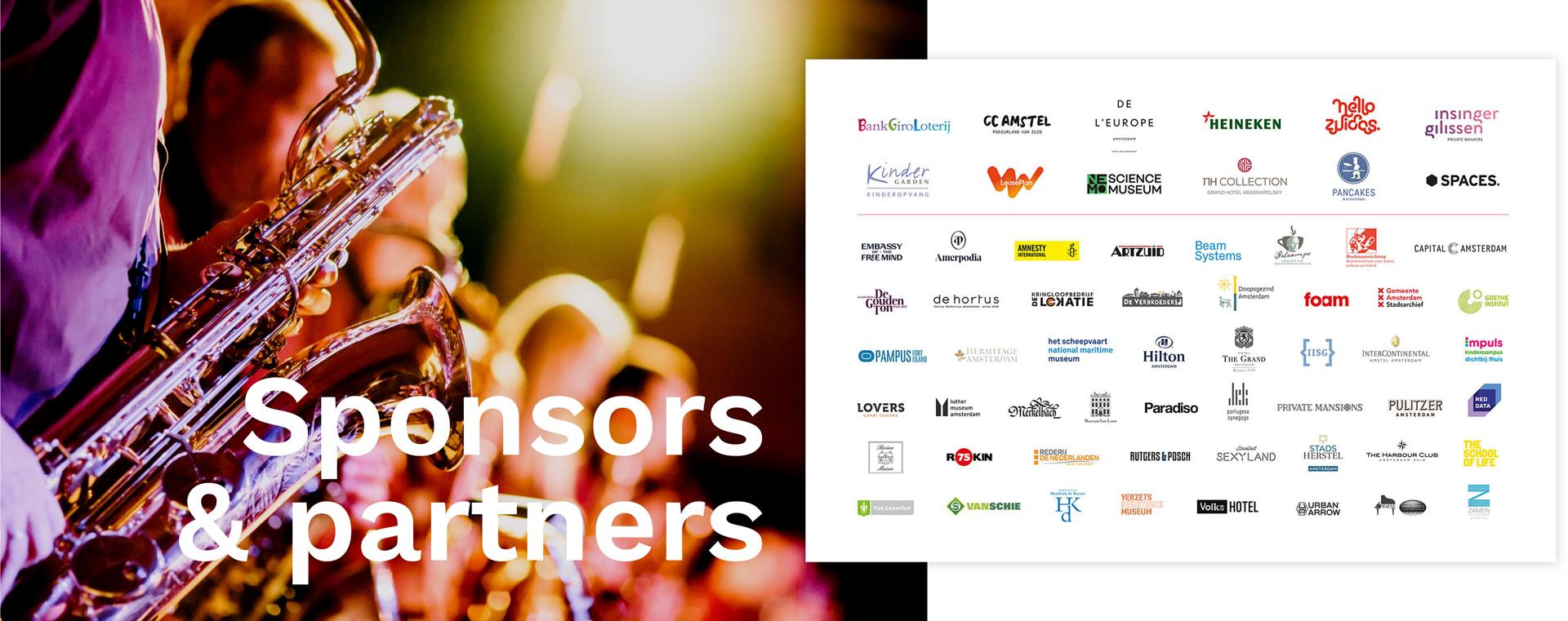 Logo's sponsors & partners